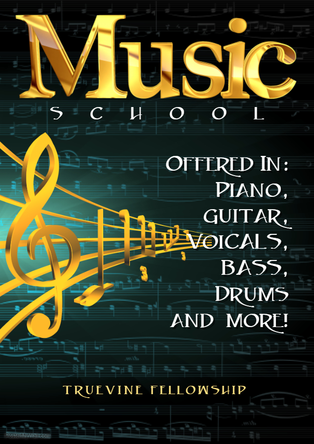 Copy of Music Lessons Flyer -